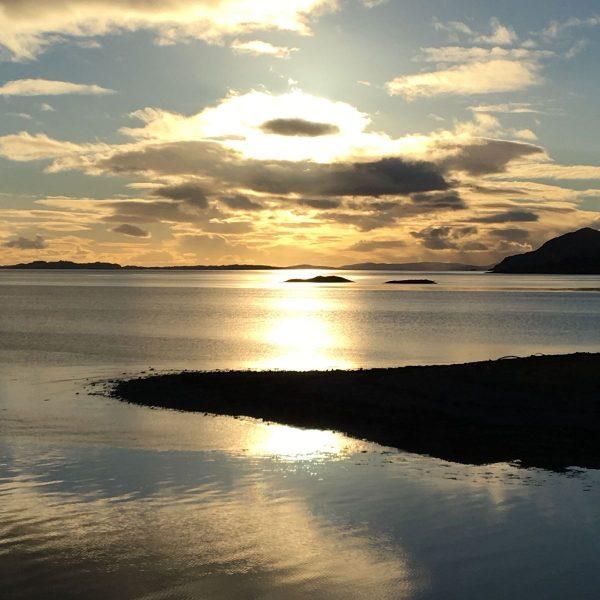 Sun on Loch Linnhe